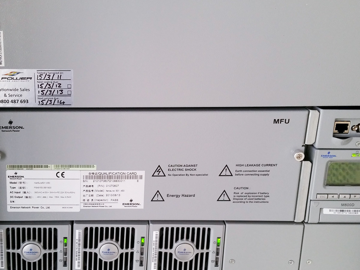 UPS 48V DC rectifier and battery backup systems 2