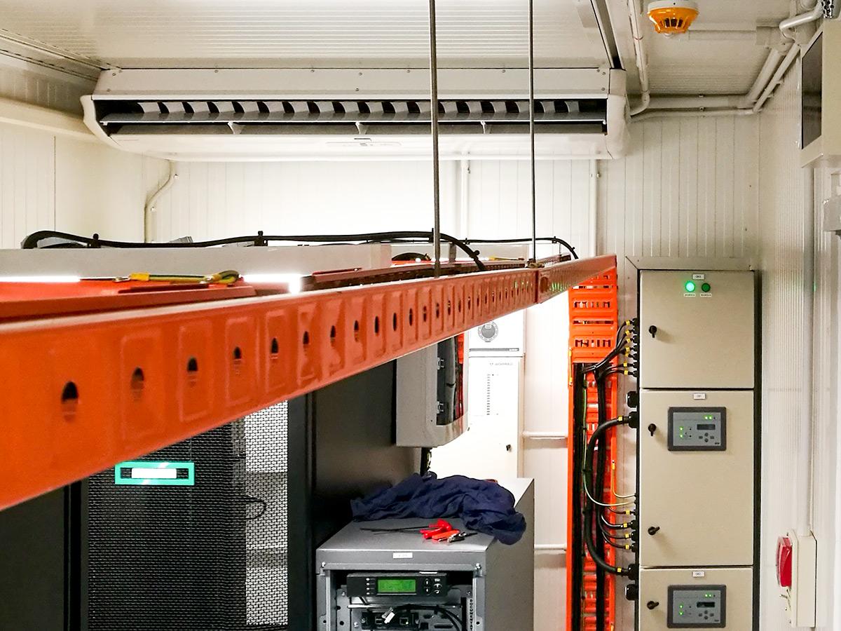 cooling system design for server room data centre cooling