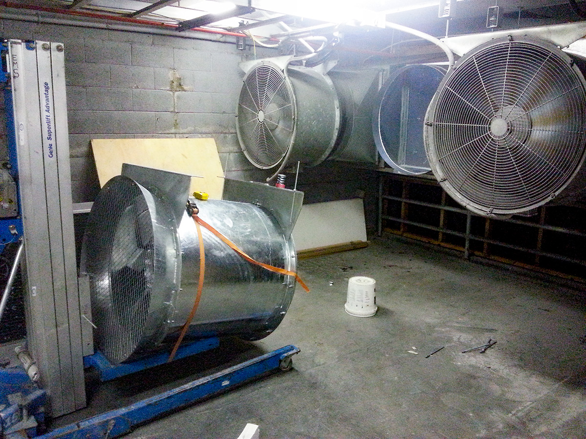 cooling system service maintenance repair for server room data centre cooling