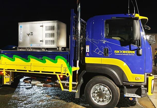 Standby backup diesel generator rental lease hire 2
